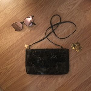 Whiting and Davis vintage sequin purse!